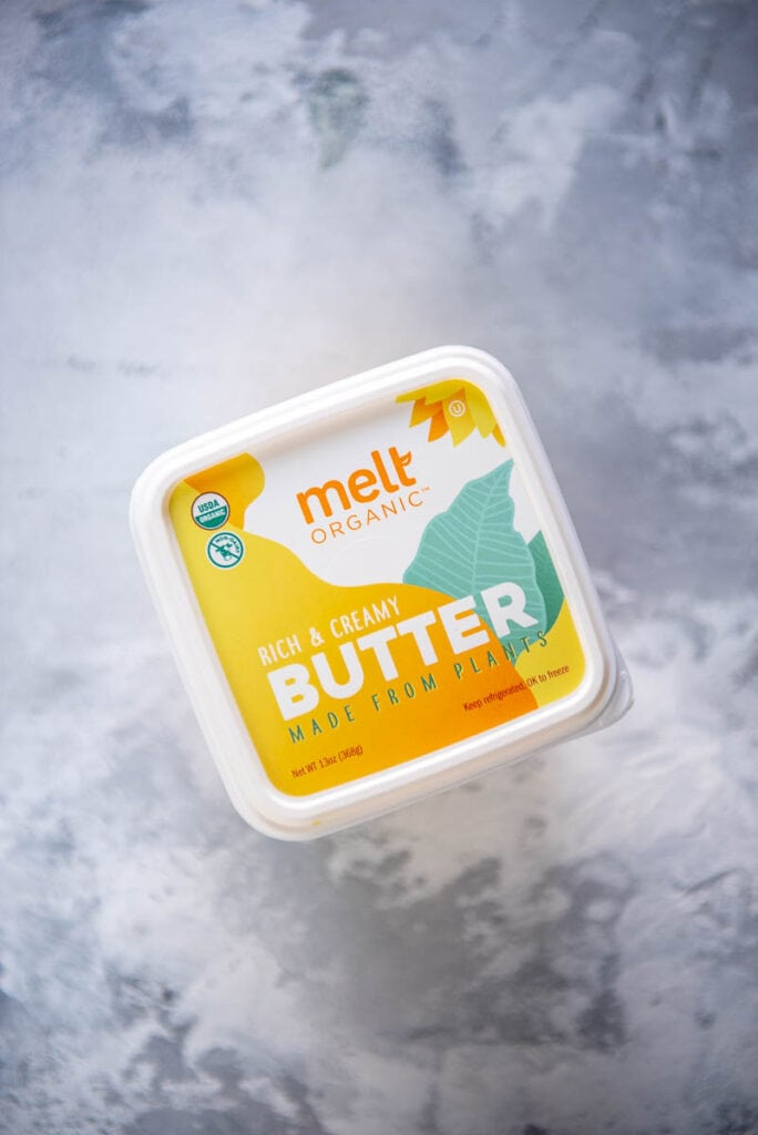 photo of package of Melt Organic plant based butter